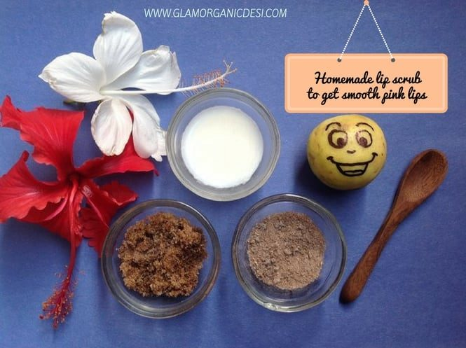 Homemade Lip Scrub, How To Get Rid Of Dark Lips, How To Get Pink Lips, How To Get Soft Lips, Lip Balms in India, Best Lip Scrubs in India, Beauty Tips, Skincare, Indian Beauty Blog, Indian Makeup Blog, Glamorganicdesi