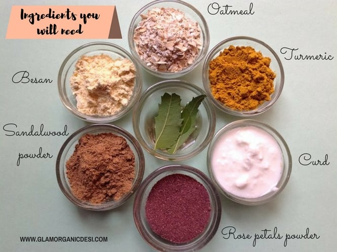 Anti-Ageing Ayurvedic Face Mask