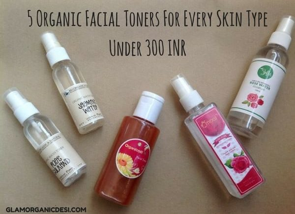 5 Best Organic Facial Skin Toners In India For Dry, Oily and Normal Skin Under 300 INR