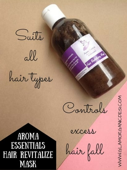 Aroma Essentials Hair Revitalize Mask, Aroma Essentials, Best Homemade Anti Hair Loss Anti Dandruff and Frizz Control Hair Pack, Dandruff, Hair Loss, Frizzy Hair, Hair Growth, Hair Loss Treatment, How to grow hair, How to grow hair fast, Indian Beauty Blog, Indian Makeup Blog, Glamorganicdesi, Home remedies, Skin Care, Beauty Tips, Hair care