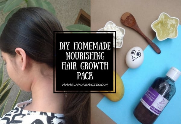 DIY Homemade Nourishing Hair Growth Pack, How to grow hair, how to get long straight hair, how to grow hair fast, Hair Care, Beauty Tips, long hair, DIY Hair Pack, Homemade Hair Pack For Dry Hair, Glamorganicdesi, Indian Beauty Blog, Indian Makeup Blog, Organic Beauty Tips