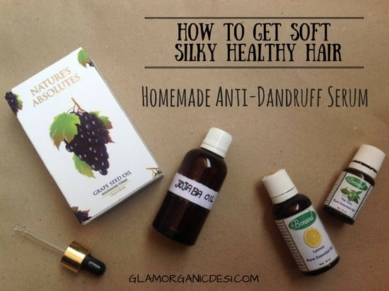 Homemade anti-dandruff hari serum, how to get long strong silky soft smooth shiny hair at home naturally, how to get rid of frizzy hair, get frizz-free and straight hair at home naturally