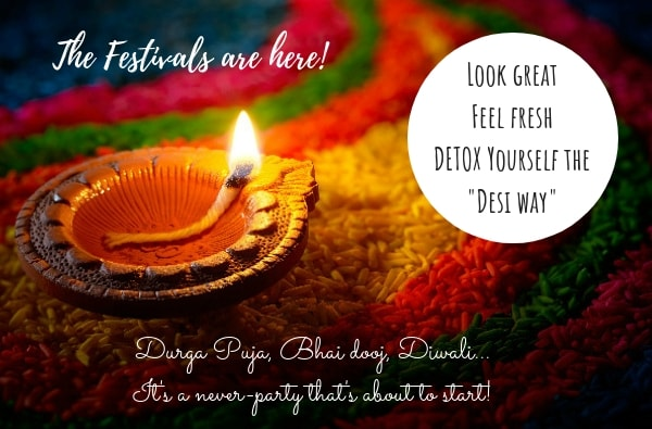 Detox, Organic Skincare, Diwali, Durga Puja, Beauty Tips For Face